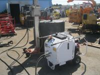 Diamond Products Portable Hydraulic Power Unit Gas.