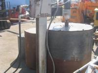 Hydraulic Core Drill Cost: $3900. Item #: i. 4162.