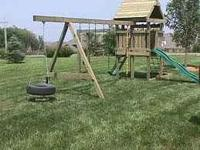 I am looking to buy playground for my two little kids.
