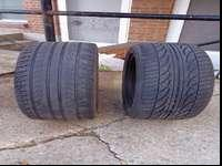 I AM SELLING 2 TIRES215/55R17 SEMI-NEW THEY ARE IN
