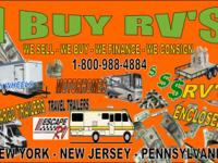 Selling Your RV We pay you on the spot, coordinate