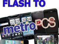 Switch to metro pcs only $10.00 to basic flash talk and