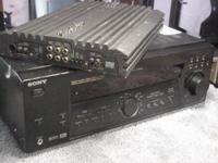 I fix audio amplifiers, house or car audio amps, all