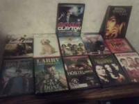 : I HAVE 12 DVDS NEEDS TO GO BEFOR THE WEEKEND THIS ARE
