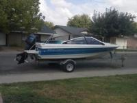 1988BAYLINER CAPRI with 85 US Force outboard engine