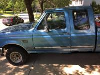 i have a 1993 ford f150 ex truck for sale asis price