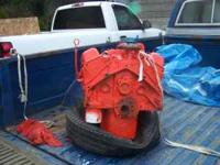 The motor came out of a 1967 chev 1ton it has 4 bolt