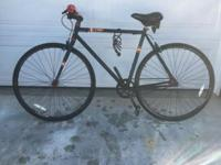 I have Single Speed SE Draft Bicycle for sale it has