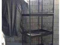 I will trade this cage for a pair of double yellow