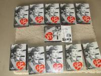 VHS SET OF 11 TAPES, Titled I LOVE LUCY THE COLLECTOR'S