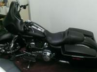 Motorcycle is in real good condition denim black /flat