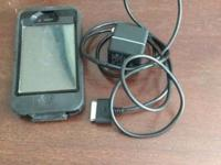I Phone 4 with charger and case. In good condition.