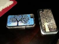 I am selling two I Phone cases - Tuff Cover Gold -Tree