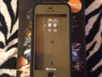 I have a light brown I telephone 5/5s life proof case.