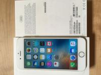 128gb Gold I Phone 6 for sale, unlocked in excellent