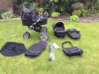 Well cared for i2i Cosatto Pram, Car Seat, Push Chair