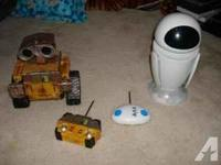 I am searching for remoted controlled wall-e and eve