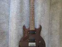 I am selling my Ibanez 7 string electric guitar. The