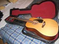 For sale is an Ibanez Performance acoustic guitar with