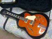 For Sale: Orange Ibanez Artcore Hollowbody Electric