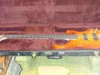 Ibanez bas in excellent condition. BTB45FQM Electric