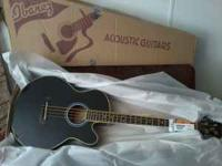 Brand NEW Ibanez Electric/Acoustic 4 string bass. I