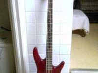Ibanez Bass Guitar $150.00 Call  Location: Zanesville