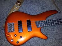 I have an Ibanez 4 string bass guitar for sale. It is
