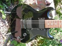 For Sale- Ibanez Gio Electric Guitar Black. Call or