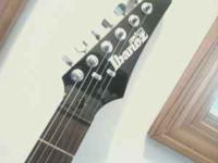 Ibanez electric guitar $80.00 Call   Location:
