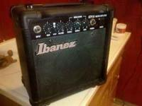 I have an Ibanez gio six string electric guitar I