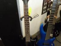 FOR SALE A BLACK IBANEZ GIO 6 STRING ELECTRIC GUITAR.