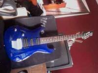 Ibanez Gio Guitar for sale. $150 with case, willing to