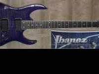 I'm selling my Purple Ibanez RGR421EXFM guitar. I'm