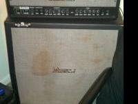 I have a ibanez halfstack for sale, 150 for the head