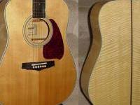 Used Ibanez PF 40 Acoustic Guitar. Very good condition,