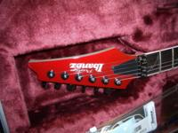 Ibanez RG3570Z Candy Apple. Guitar is in un-played