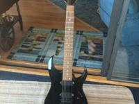 I'm selling my Ibanez RG series 7 string guitar because