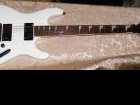 Ibanez S320 DX series Guitar - White mint condition