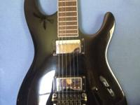 This is a nice ibanez s series guitar. Wonderful shape
