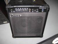 I have an Ibanez bass amp for sale in very good