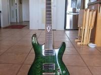 The Ibanez SZ520QM is an SZ series electric guitar