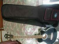 Ibanez AEB10E acoustic bass.Fishman sonicore pickup and