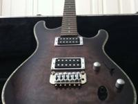 -Ibanez SA series, Trans Black Burst finish
