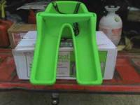 New, Ibert bicycle safe t seat. It's missing the seat