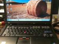 "Selling the IBM laptop ""ThinkPad R51"" Windows 7 1.5GB"