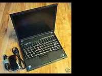 IBM Lenovo Thinkpad T60p Windows 7 Great Battery Finger
