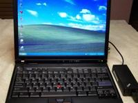 General Info.  This is an IBM ThinkPad T43 laptop