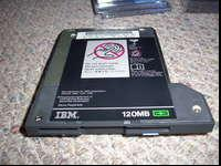 "For a ""tradition"" IBM ThinkPad: One SuperDisk drive"