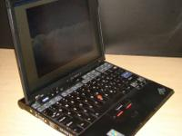 IBM X41 notebook, needs 1.8 inch hard drive  IBM X41